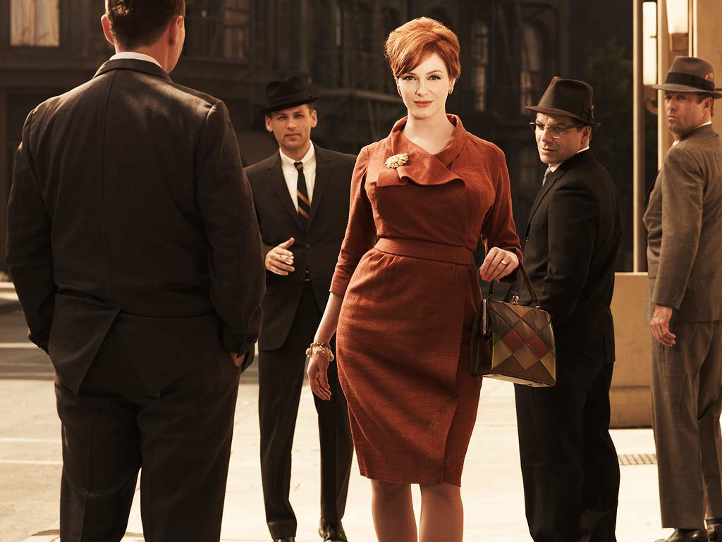 "Style: ""Mad Men""Joan Holloway (Christina Hendricks)"