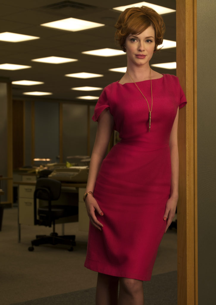 Joan Holloway (Christina Hendricks) - Mad Men - Season 2 - Photo Credit: Frank Ockenfels/AMC