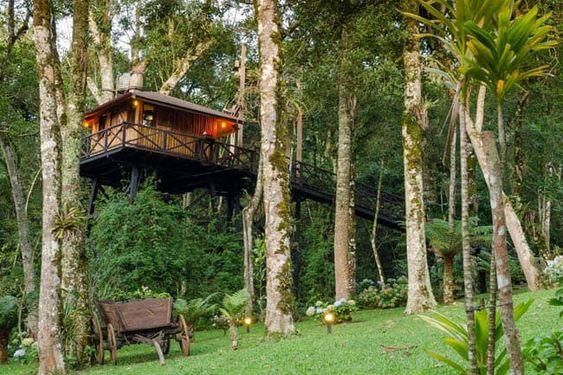 foto de locais para fazer acampamento de luxo no Brasil